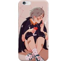 A little chat with myself iPhone Case/Skin