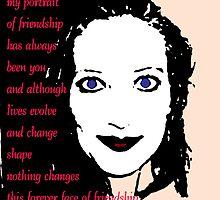 Portrait of Friendship by Adrena87