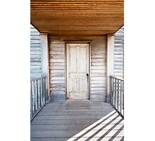 American Civil War Home - Lines & Symmetry Photographic Print