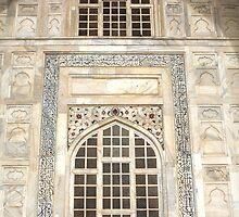 Taj Mahal Facade - Agra - India by aidan  moran
