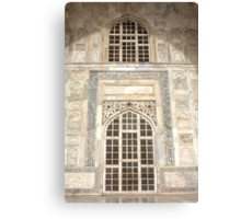 Taj Mahal Facade - Agra - India Canvas Print