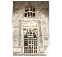 Taj Mahal Facade - Agra - India Poster