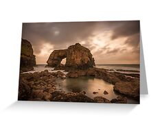 Great Pollet Sea Arch Greeting Card