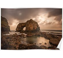 Great Pollet Sea Arch Poster