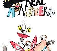 Real Monsters! by Monique Cutajar
