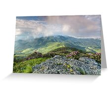 Roan Highlands Southern Appalachian Scenic Greeting Card
