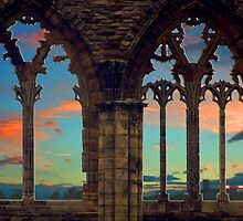 Abbey Sunset  by Lee Kerr