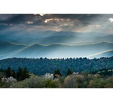 Southern Appalachian Mountain Scenic Landscape Photographic Print