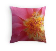 The Beauty of Nature Close Up Throw Pillow