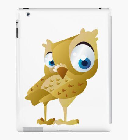 Funny owl iPad Case/Skin