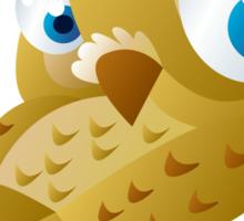 Funny owl Sticker