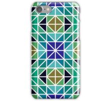 Colorful triangle mosaic iPhone Case/Skin