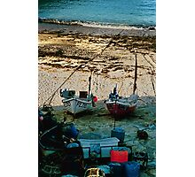 Sennen Boats Photographic Print