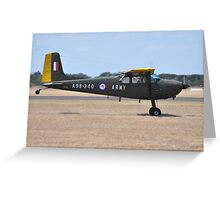 Cessna 180, Point Cook Airshow, Australia 2014 Greeting Card