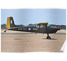 Cessna 180, Point Cook Airshow, Australia 2014 Poster
