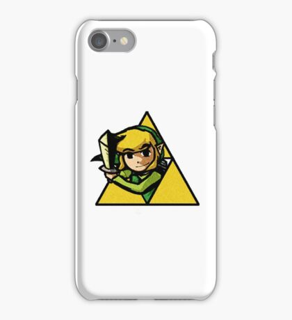 Legend of Zelda - The Triforce of Courage iPhone Case/Skin