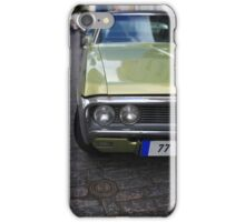 American car on the streets iPhone Case/Skin