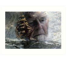 The Flying Dutchman. Art Print
