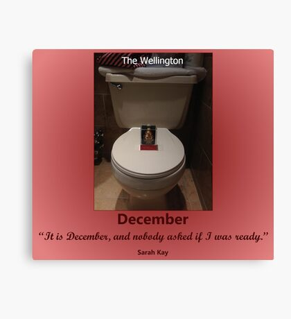 Toilets of New York 2015 December - The Wellington Canvas Print