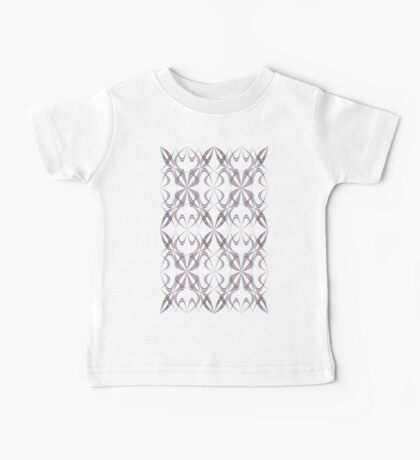 Abstract calligraphy pattern Baby Tee
