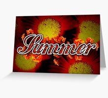 Summer - 4 Seasons Print Range Greeting Card
