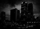 in the dark of the city  by Juilee  Pryor