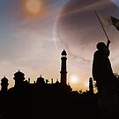 Faqirabad Prime Trinary Sunset !Pakistan Zindabad! by Kenny Irwin