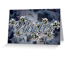 Winter - 4 Seasons Print Range Greeting Card