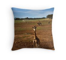 Wait for me!!!! Throw Pillow
