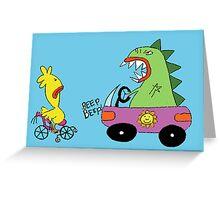 Beep beep! Greeting Card