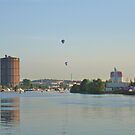 Balloons Sighted on the Port Side by HELUA