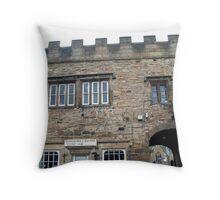Post Office at Blanchland. Throw Pillow