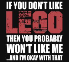 If You Don't Like Lego T-shirt by musthavetshirts