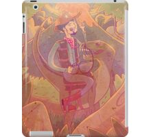 Raptor Cowboy iPad Case/Skin