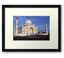 Taj Mahal Love Framed Print