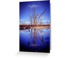 The Blues... Greeting Card