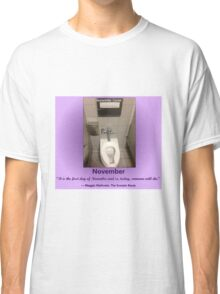 Toilets of New York 2015 November - Rockefeller Centre Classic T-Shirt