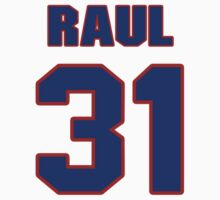 National baseball player Raul Casanova jersey 31 by imsport