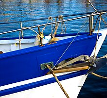 Blue Boat Bow by FuriousEnnui