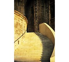 Golden Staircase Photographic Print