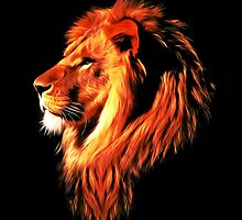 lion_head_01 by tarexayed