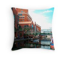 Brindley Place Birmingham Throw Pillow