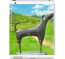 Doggy Sculpture iPad Case/Skin