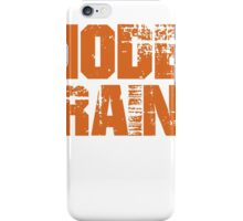 If You Don't Like Model Trains T-shirt iPhone Case/Skin