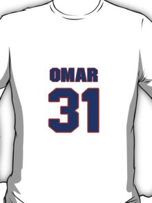 National baseball player Omar Olivares jersey 31 T-Shirt