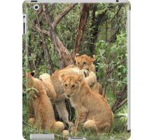 Masai Mara Lion Cubs iPad Case/Skin