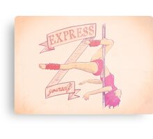 Express yourself Metal Print