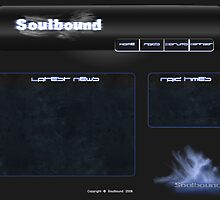 Soulbound website by Voodoogfx