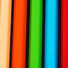 Lapices de Colores III by Larissa Brea