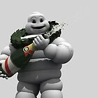 Michelin man by Voodoogfx